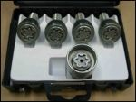Milenco Caravan Locking Wheel Nuts Set of 4
