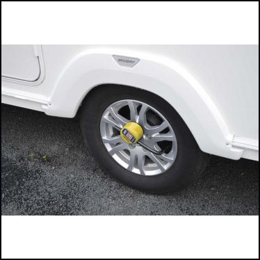 Stronghold Caravan Alloy Wheel Lock